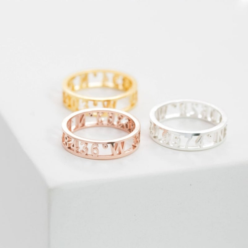 Coordinates Rings by Kate Kim
